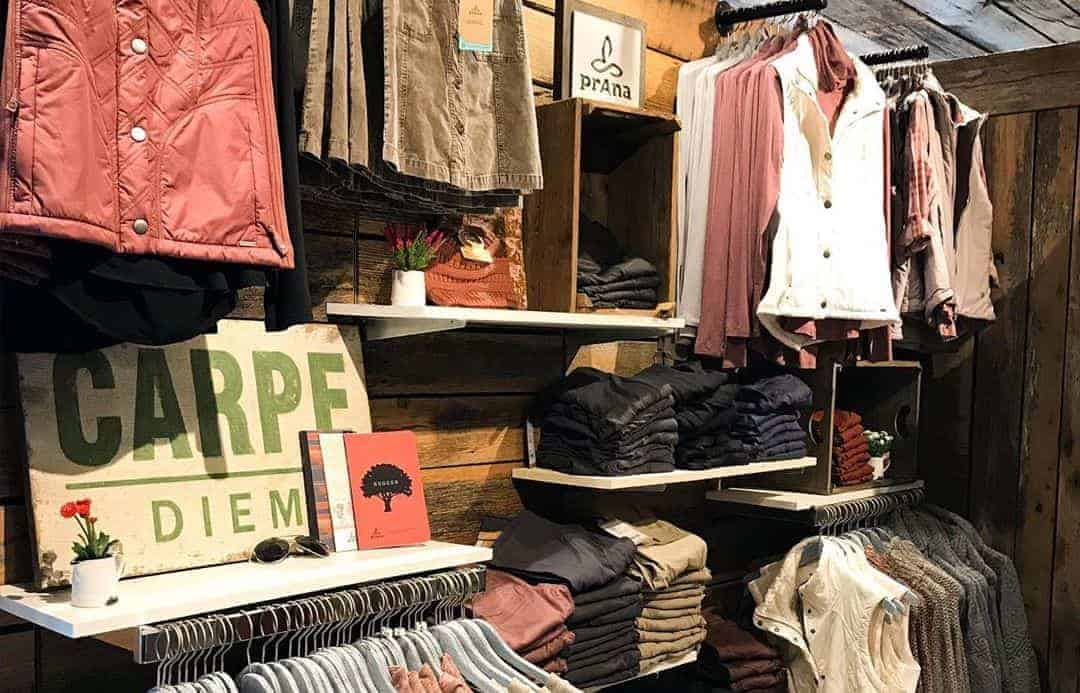 clothes in Ogle Brothers General Store