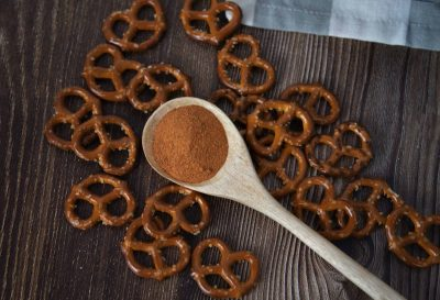 Salted Caramel Pretzel Seasoning -Jar