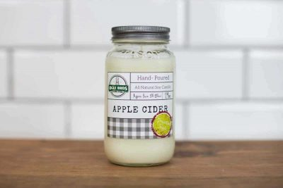 Apple Cider Hand Poured Soy Wax Candle