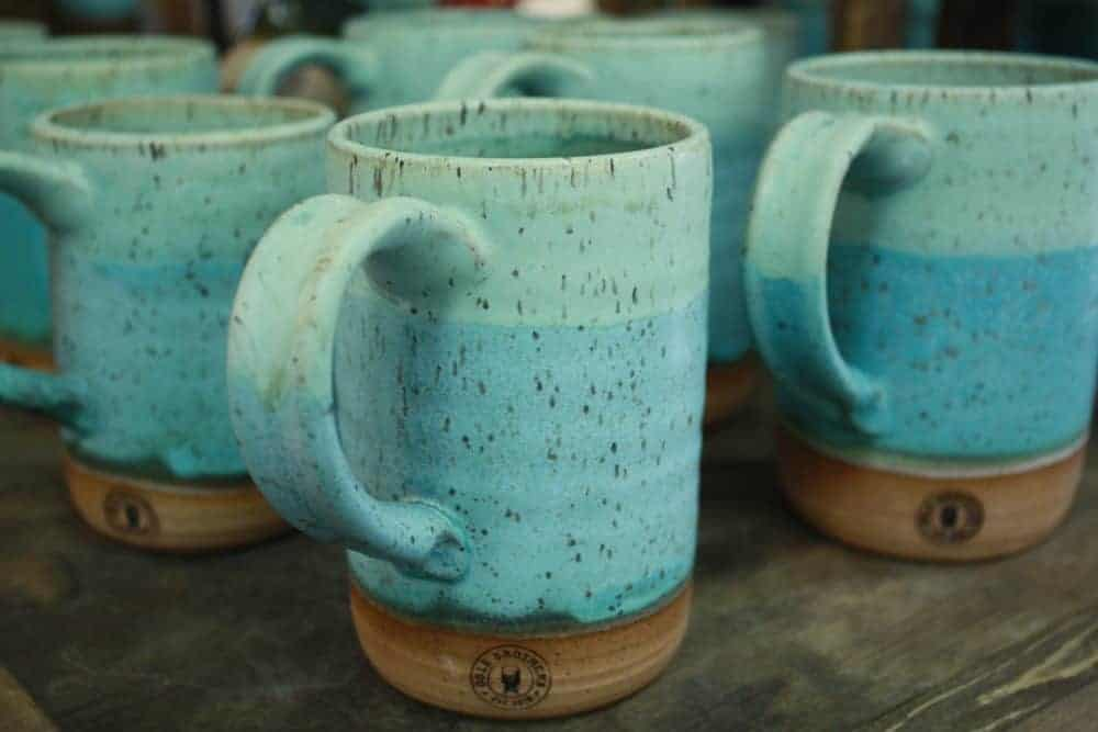 All About the Handmade Pottery at Ogle Brothers General Store