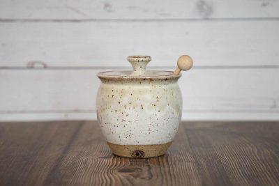 Honey Jar – White