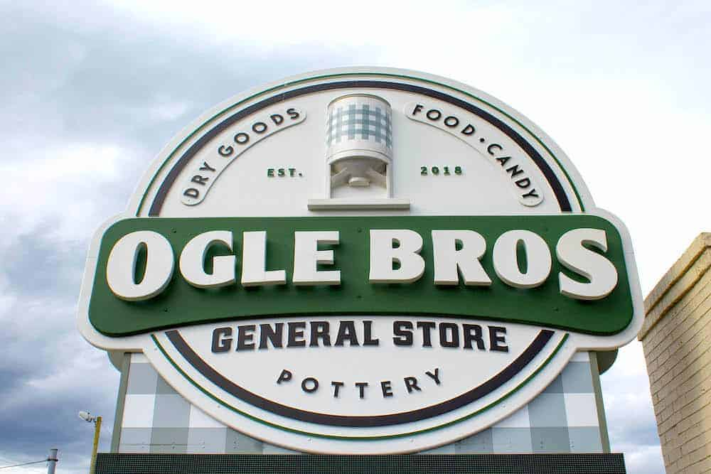 ogle brothers sign