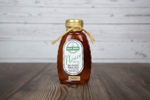 Garlic Infused Honey 1lb
